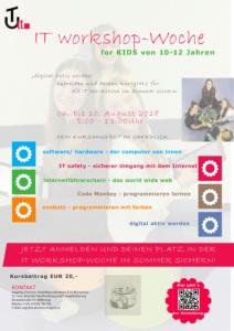 Plakat TUit IT-Workshop-Woche